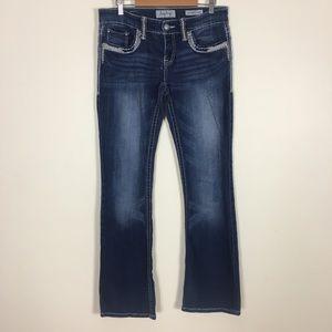 Daytrip | Buckle Aquarius Flare Jeans 30L